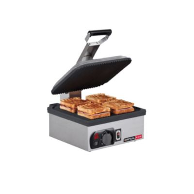 9 Slice flat plate non stick sandwich toaster