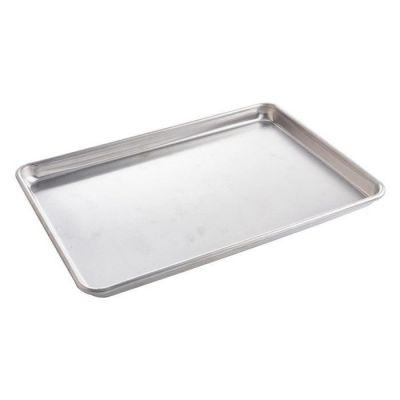 Aluminium baking tray - 435 x 315 x 10mm