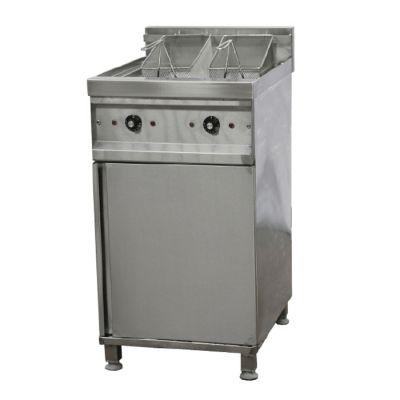 Electric fryer - 2 x 10 Lt, floor standing