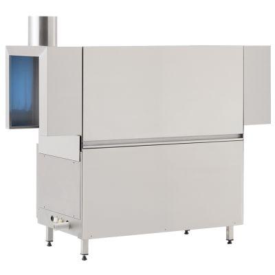 Conveyor dishwasher - left to right