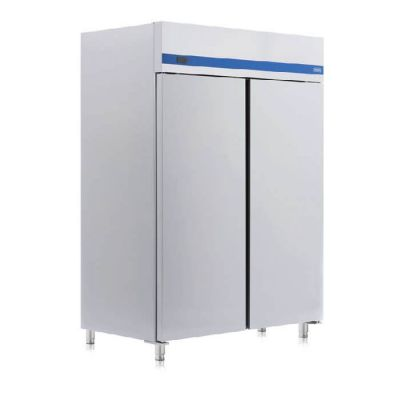 Upright double door refrigerator