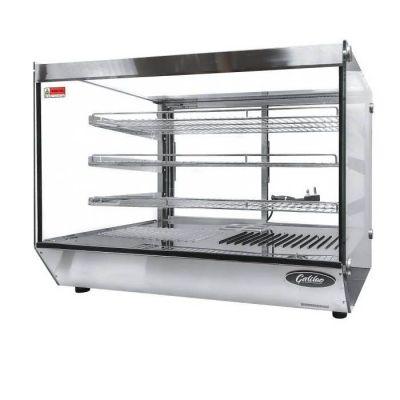 Heated countertop display cabinet - 0.7 meter