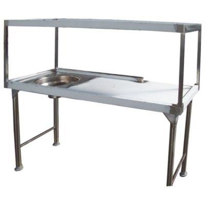 Dirties receiving table - 1850 mm