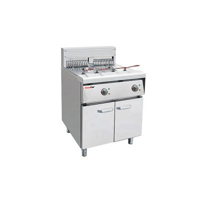 30Lt double electric fryer - floor standing