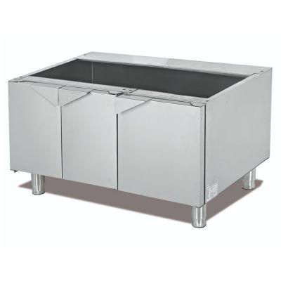 Modular cabinet with doors
