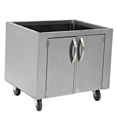 Charcoal oven bottom cabinet