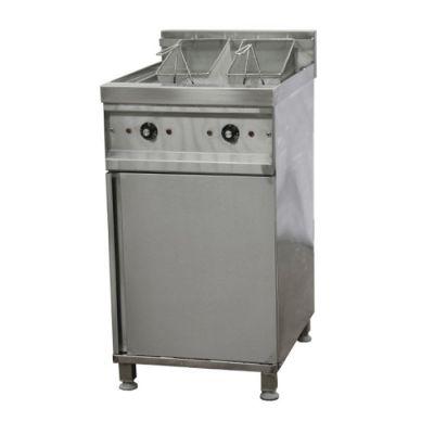 Electric fryer - 2 x 20 Lt, floor standing