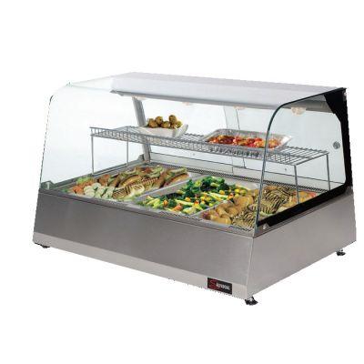 Heated display merchandiser - countertop