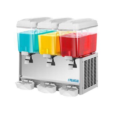 Juice dispenser - 3 x 12Lt