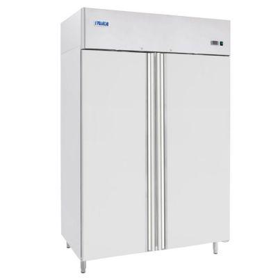 Double door upright fridge