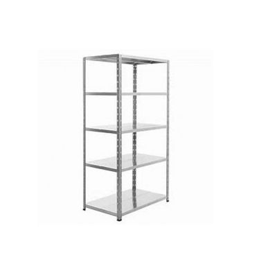 Galvanized shelving unit - 850 x 380 x 1800mm
