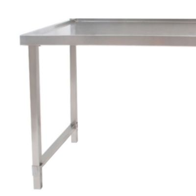 Frontloading dishwasher outlet table - 700mm