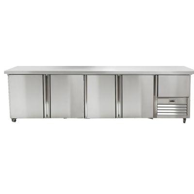 4.5 Stainless Steel Door Gastronorm Underbar Fridge